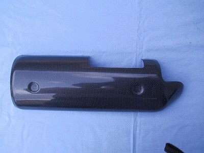 Ducati Monster S4R Carbon Exhaust Cover