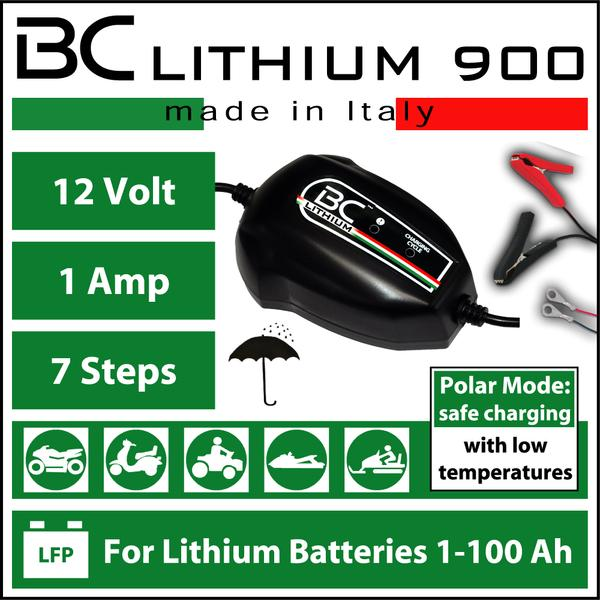 BC Battery Controller LITHIUM 900 Battery Charger