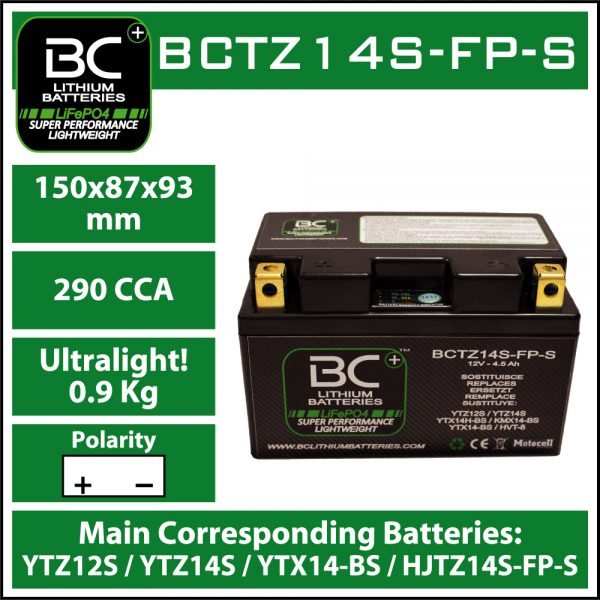 BC Battery Controller BCTZ14S-FP-S BC LITHIUM BATTERIES
