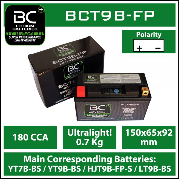 BC Battery Controller BCT9B-FP BC LITHIUM BATTERIES