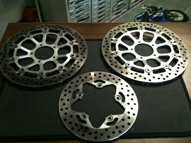 Ducati 749/999 Front and Rear Discs