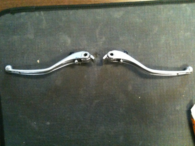 Levers for Ducati Models - 749, 999, 848, 1098, 1198 - USED