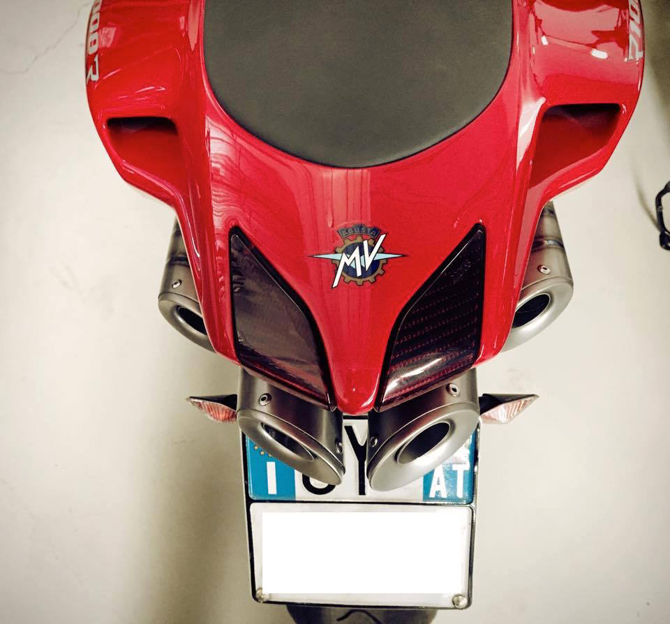 Silmotor Exhausts - MV Agusta Four Cylinder Bikes