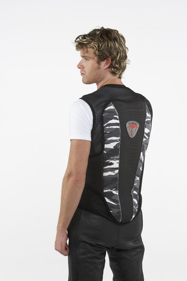 Knox Gilet - Air - Mesh Fabric with integral Contour back protector