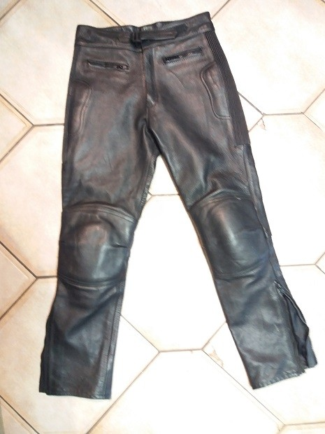 BABY BIKER Kids Leather Trousers  Large