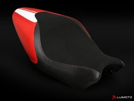 Ducati Monster 821 1200 15-16 Luimoto Seat Covers - Strip Edition