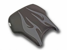 Honda CBR600RR 03-04 Luimoto Seat Covers - Flame Edition
