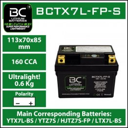 BC Battery Controller BCTX7L-FP-S BC LITHIUM BATTERIES