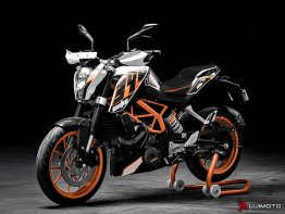 R Seat Covers for the KTM 200 DUKE 12-16